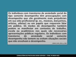 Conversando sobre Transtorno de Ansiedade Social (Fobia Social)